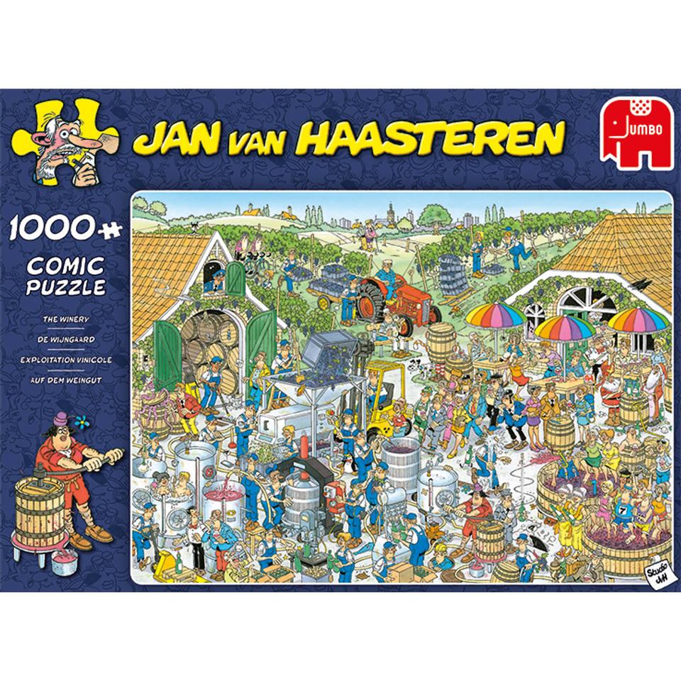 Jumbo Jan van Haasteren puzzel De wijnmakerij - 1000 stukjes