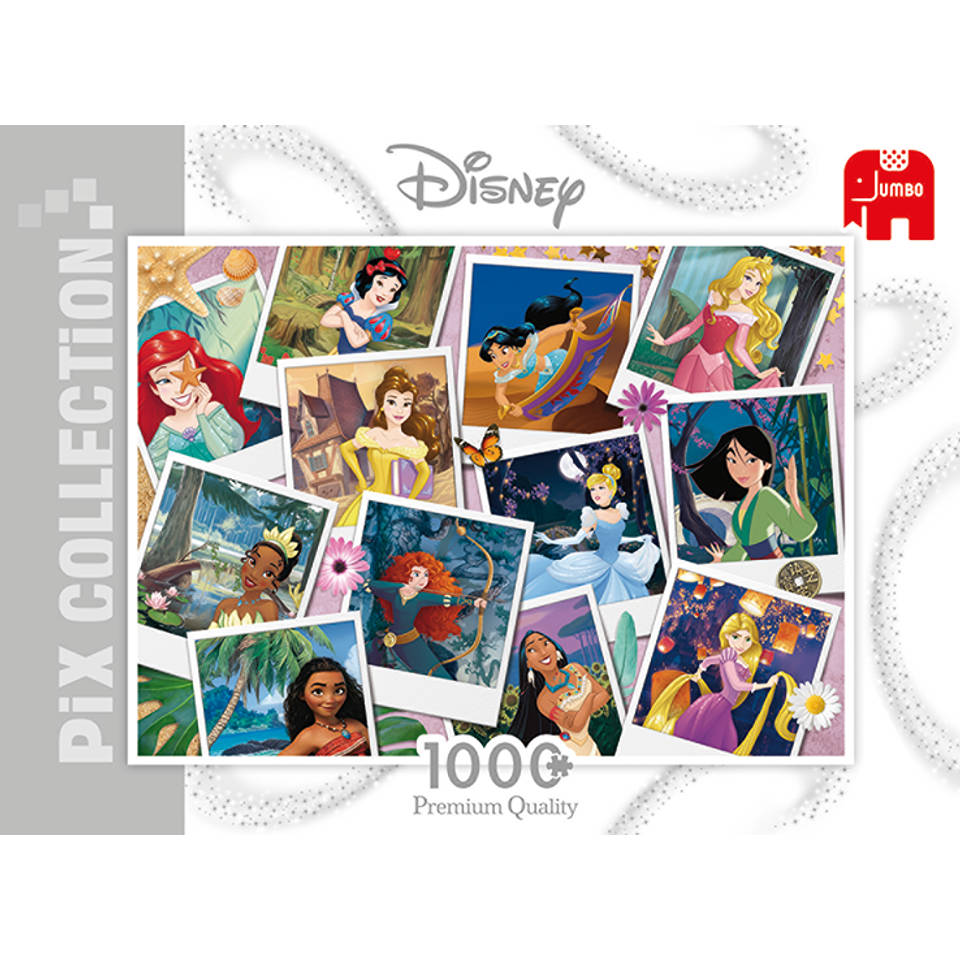 Jumbo puzzel Disney Princess Selfie - 1000 stukjes