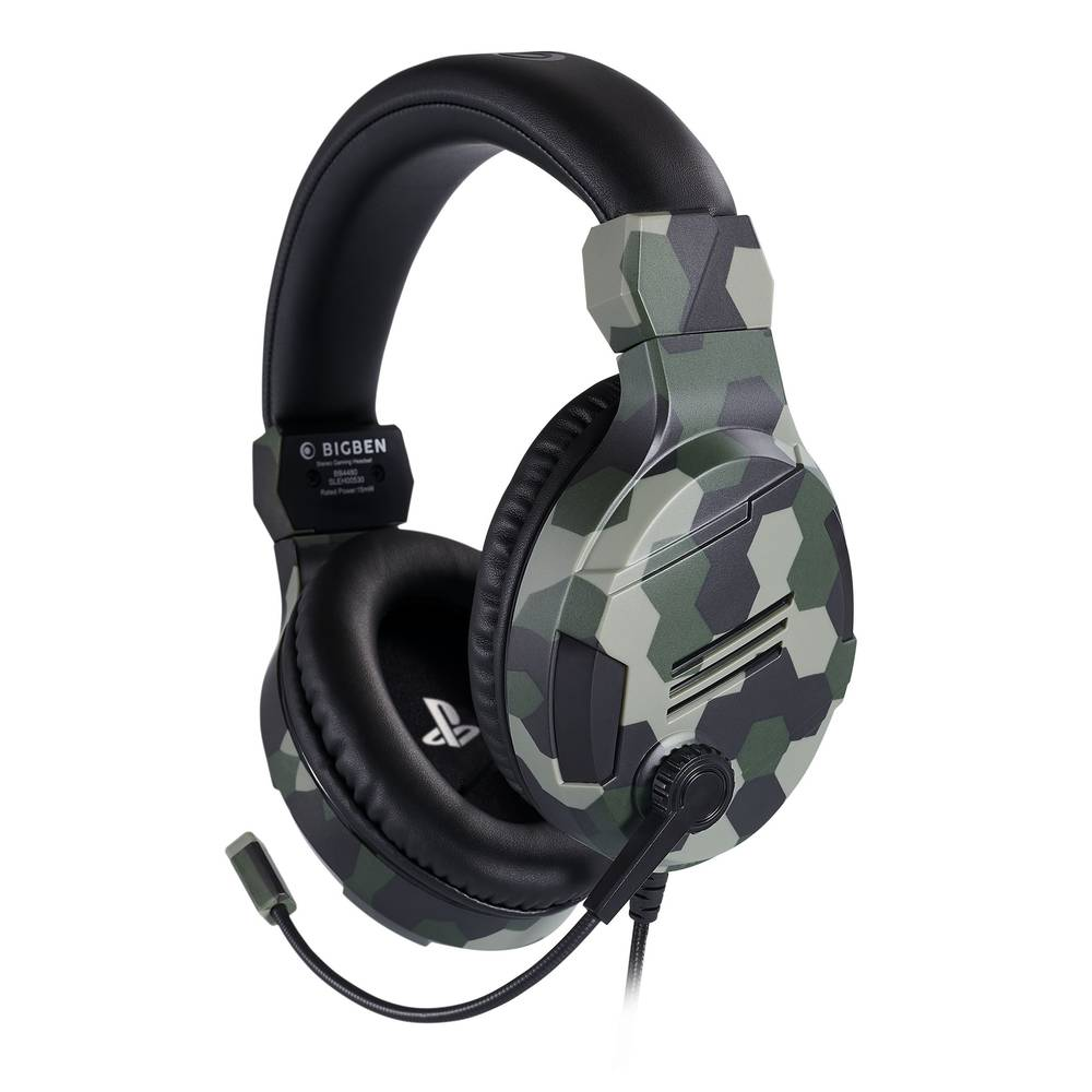 PS4 gaming headset official - camo