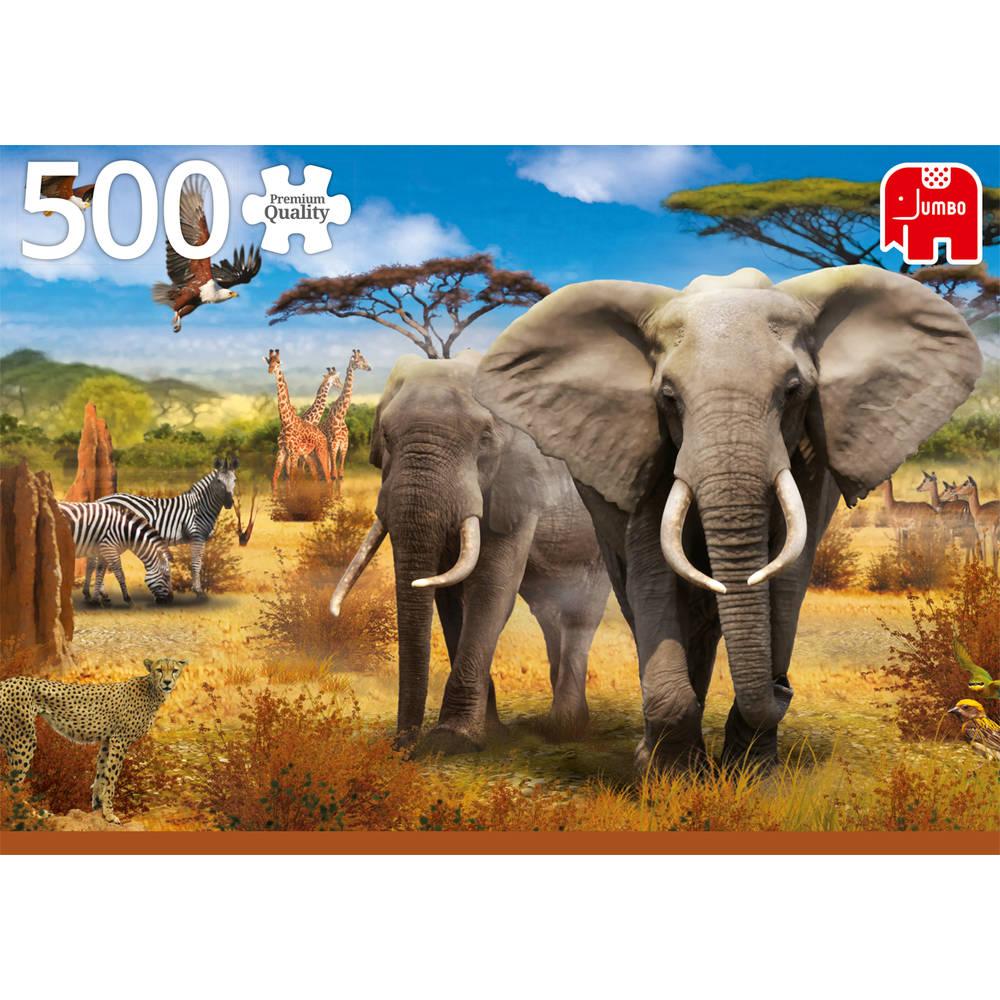 Jumbo puzzel Afrikaanse Safari - 500 stukjes