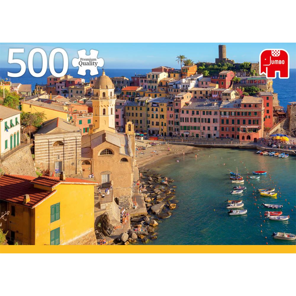 Jumbo puzzel Vernazza Cinque Terre - 500 stukjes