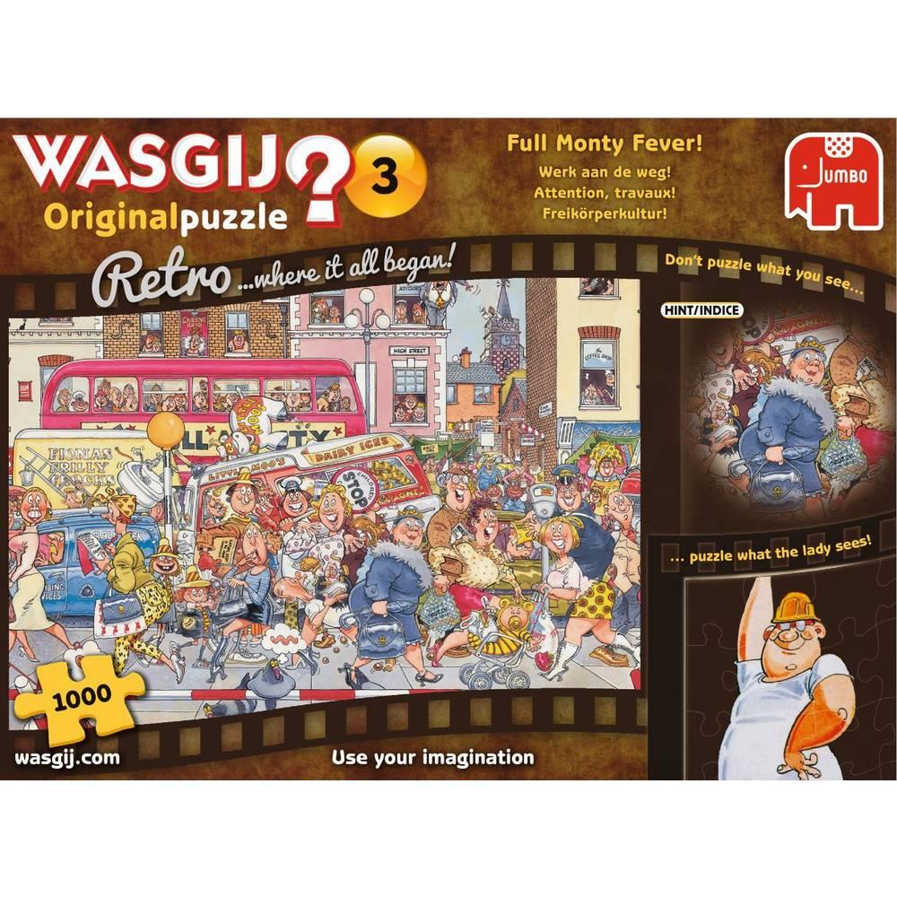 Jumbo Wasgij Retro Original 4 puzzel - 1000 stukjes