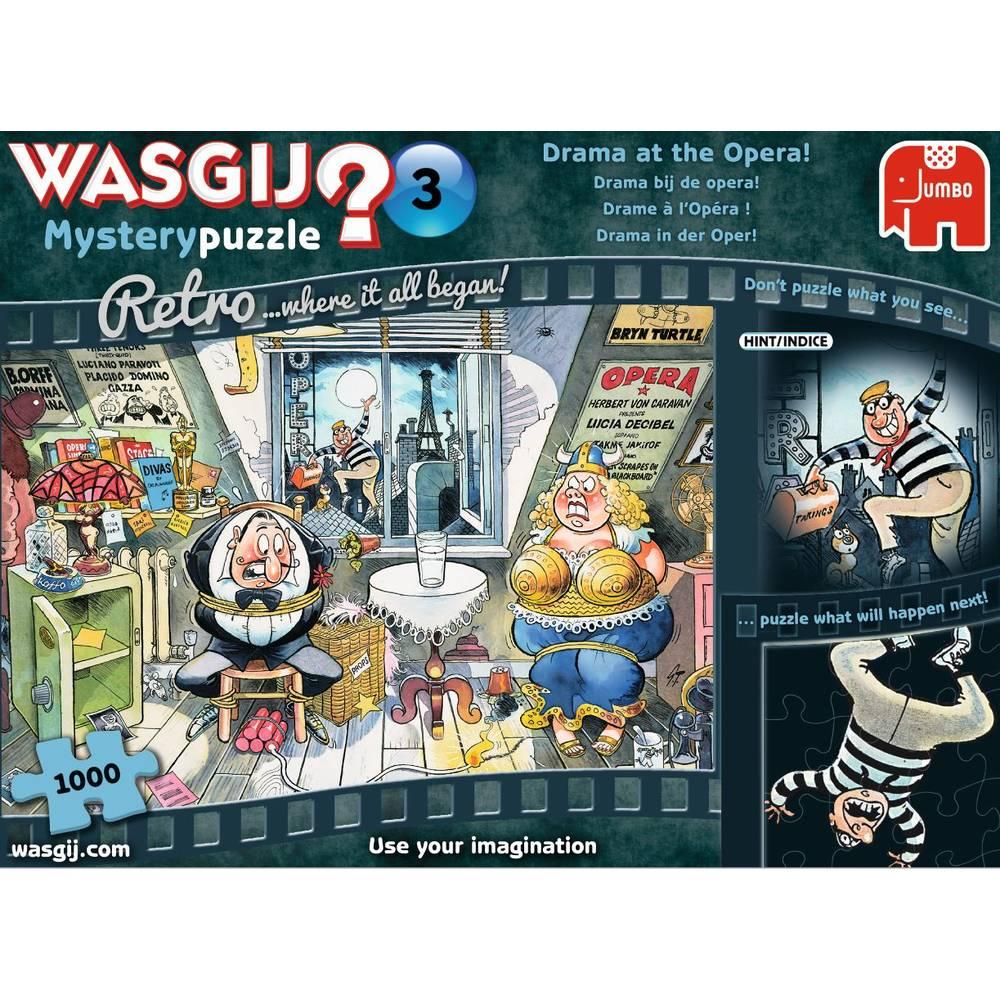 Jumbo Wasgij Retro Mystery 4 puzzel - 1000 stukjes
