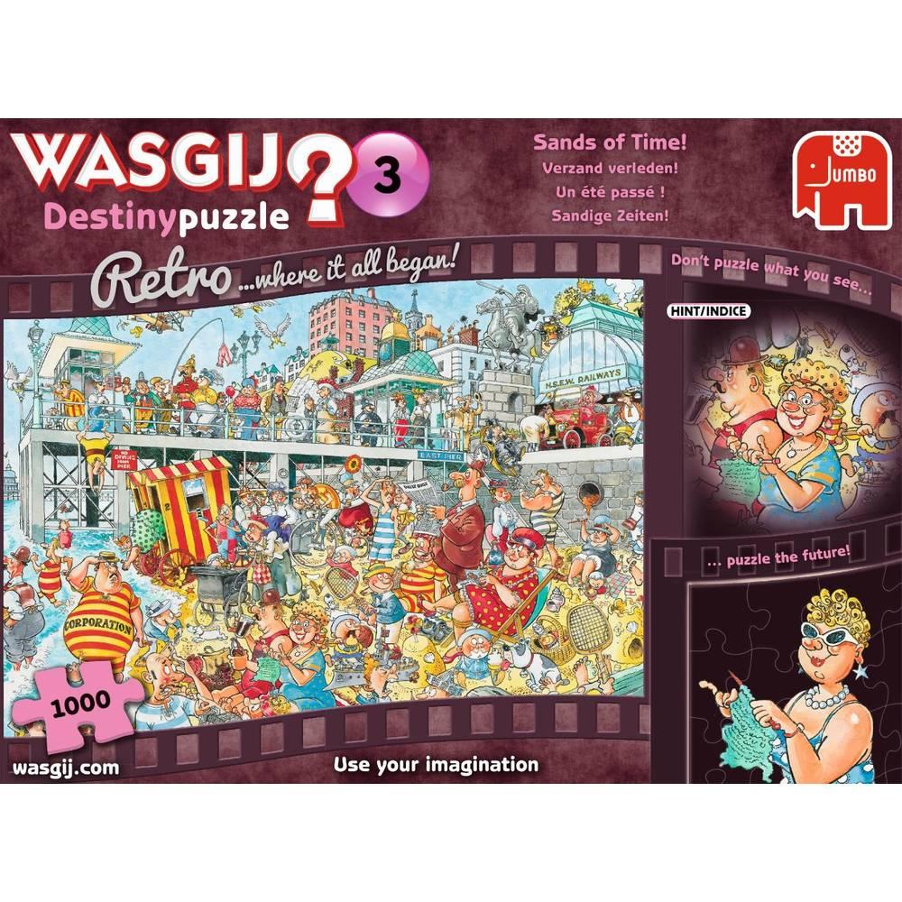 Jumbo Wasgij Retro Destiny 4 puzzel - 1000 stukjes