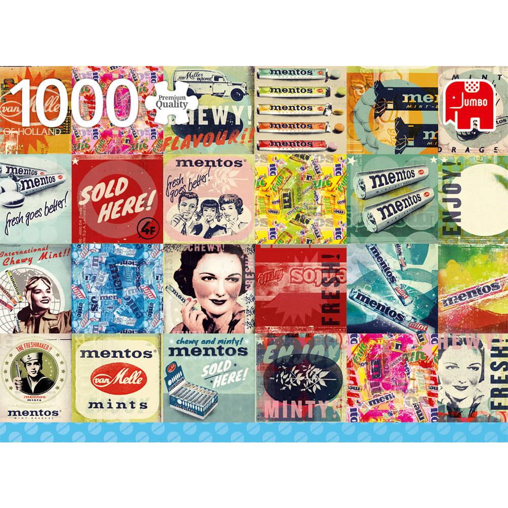 Jumbo puzzel vintage Mentos - 1000 stukjes
