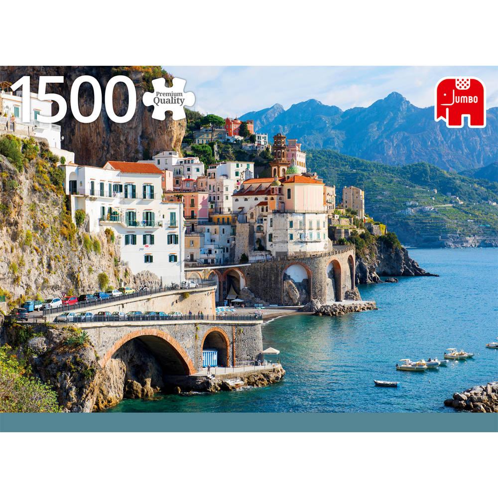 Jumbo puzzel Amalfikust Italië - 1500 stukjes