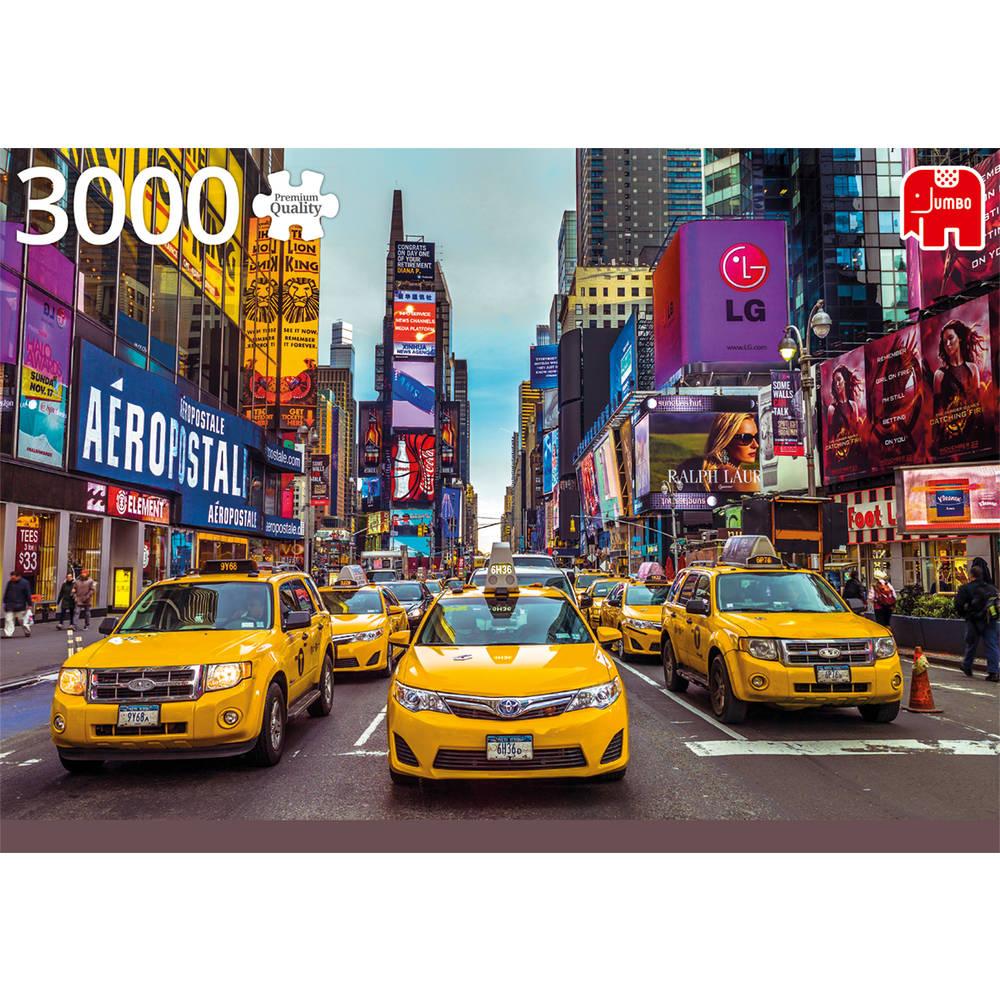Jumbo puzzel New York taxi - 3000 stukjes