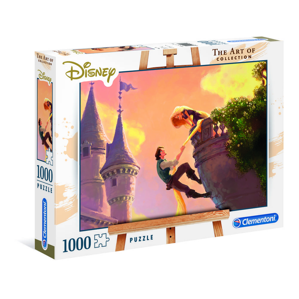 Clementoni The Art of Disney Rapunzel puzzel - 1000 stukjes