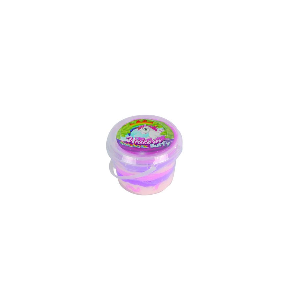 Bounce Putty eenhoorn regenboog - 110 gram