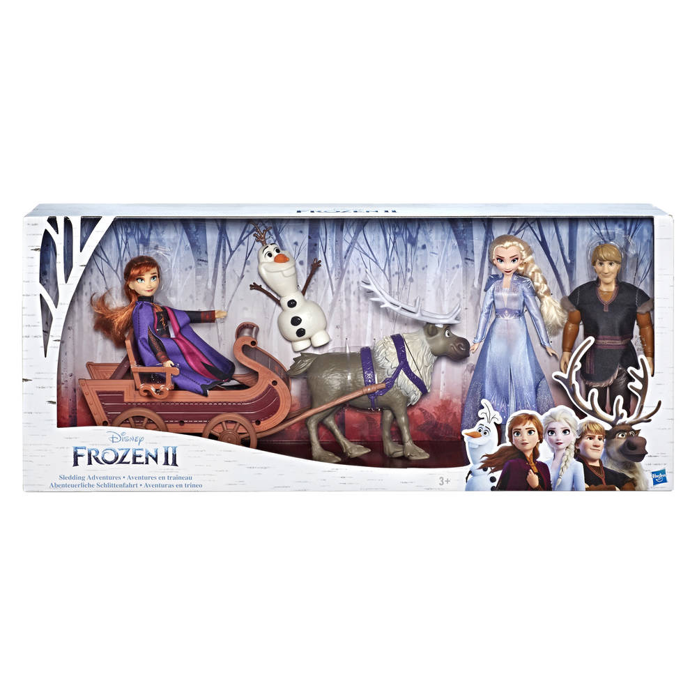 Frozen 2 slee avonturen speelset