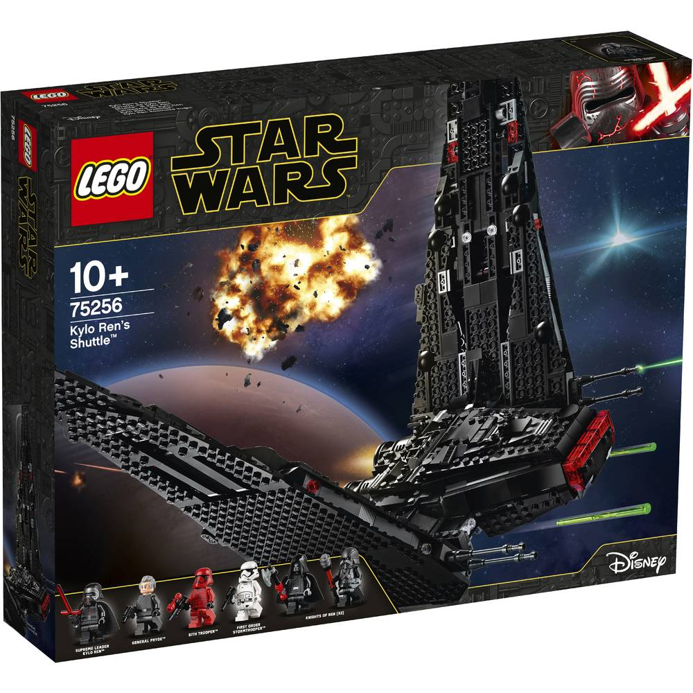 LEGO Star Wars Kylo Rens shuttle 75256