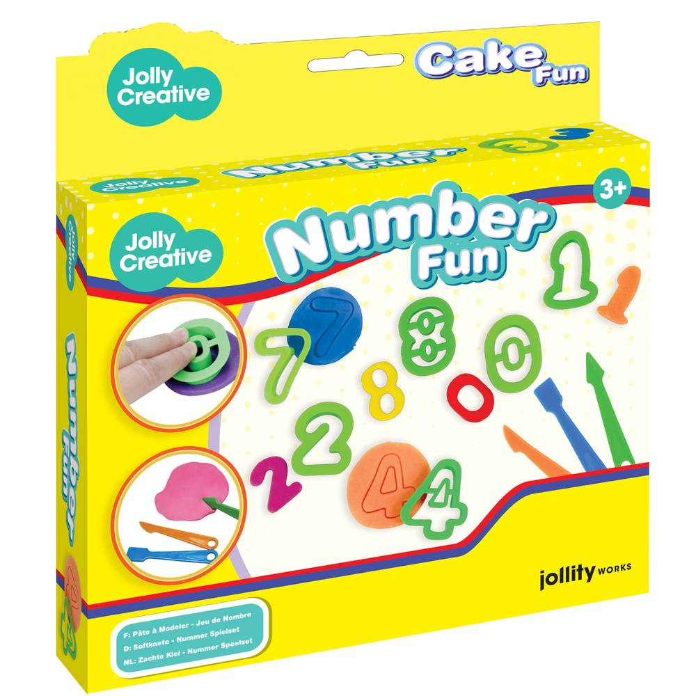 JollyDough number party set