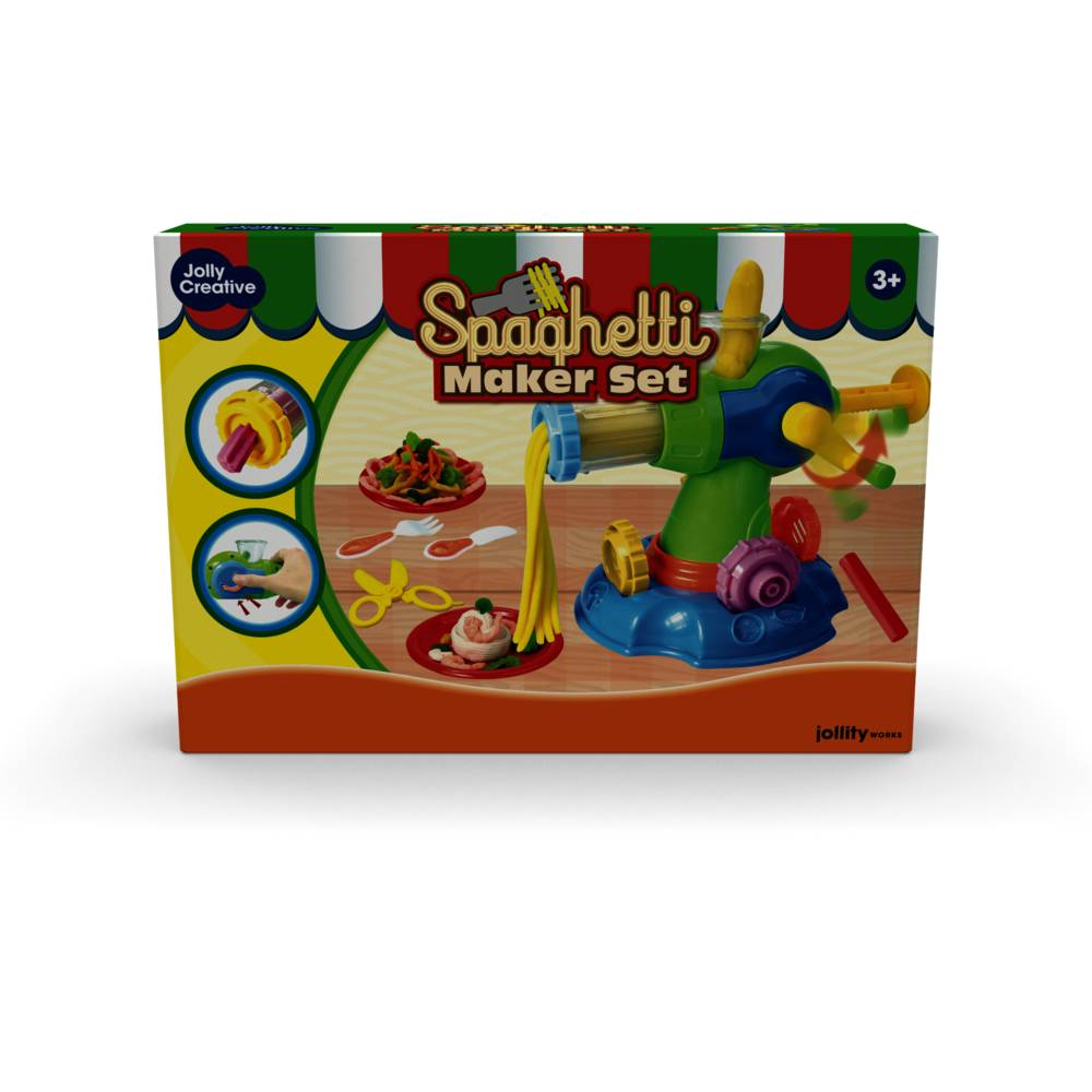 JollyDough spaghetti maker set