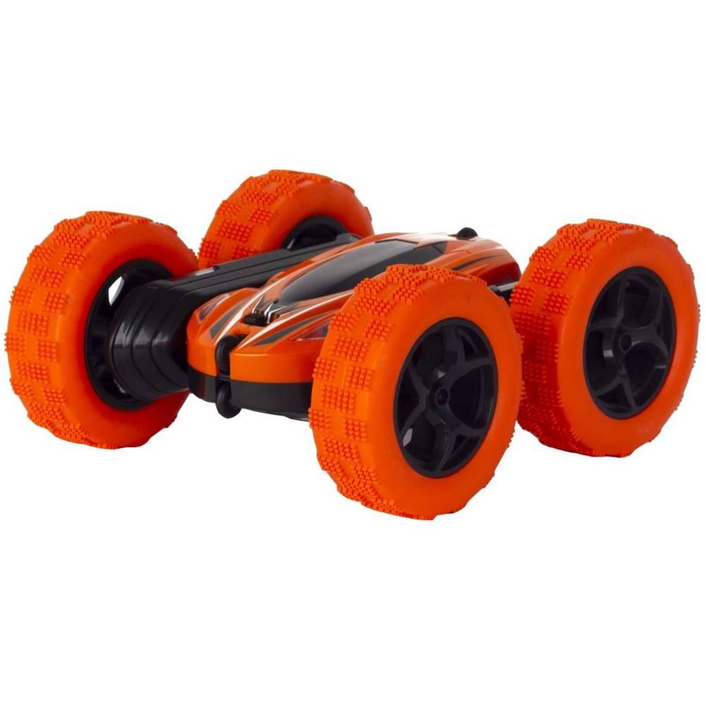 Wonky Cars op afstand bestuurbare stuntauto - oranje