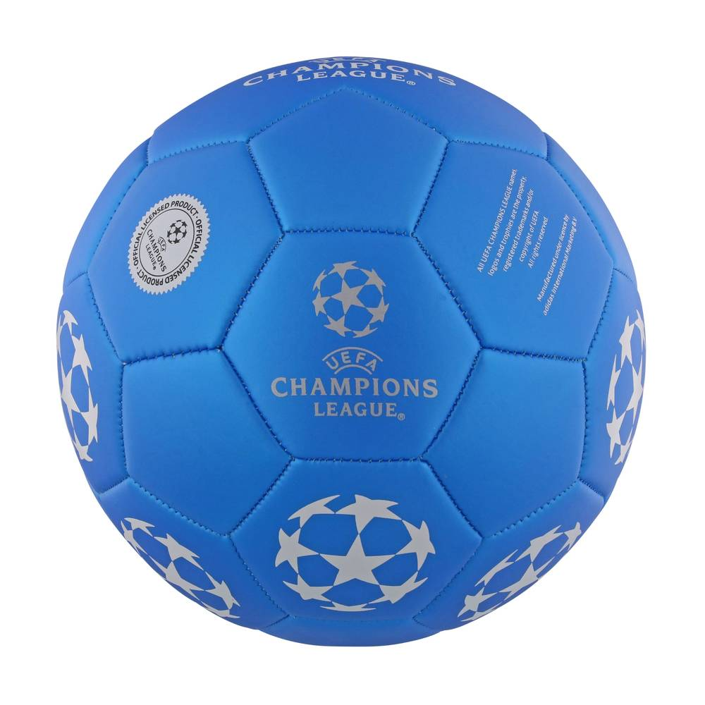 Champions League voetbal No.2 - maat 5 - blauw