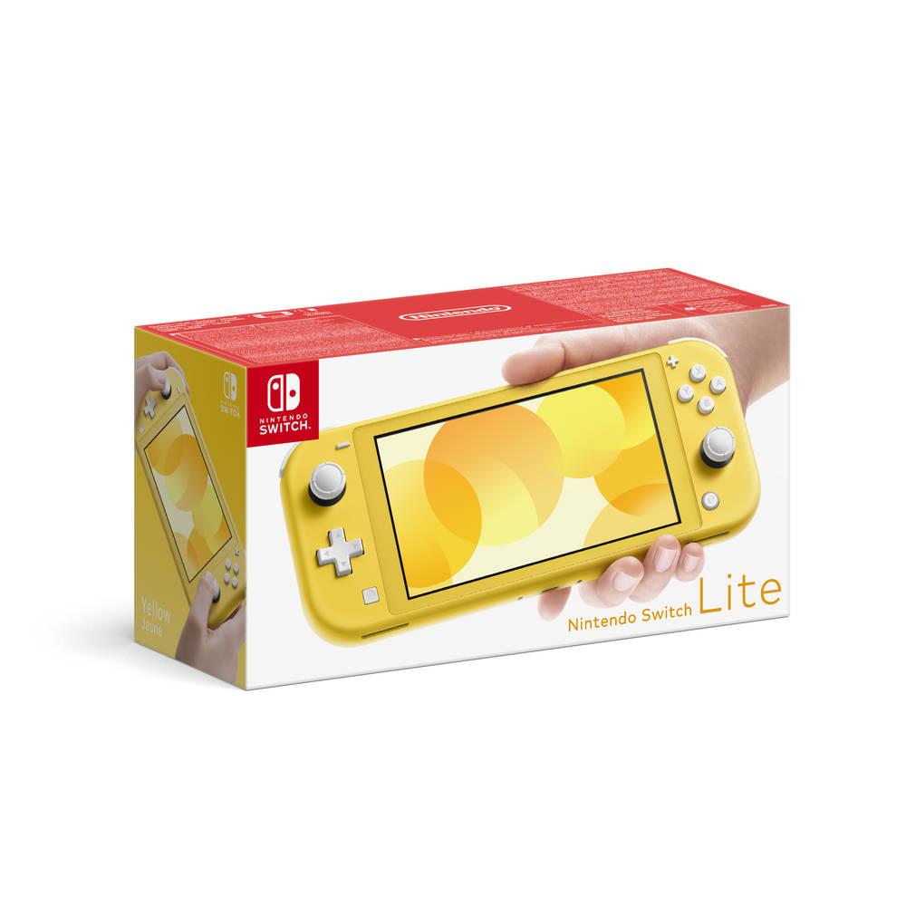 Nintendo Switch Lite - geel