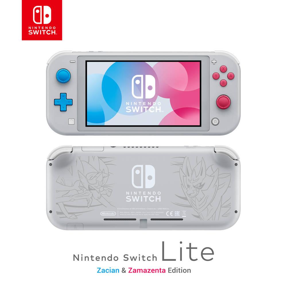 Nintendo Switch Lite Zacian & Zamazenta editie