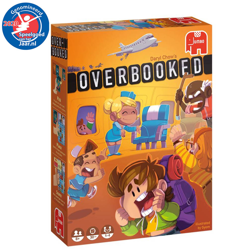 Jumbo Overbooked bordspel