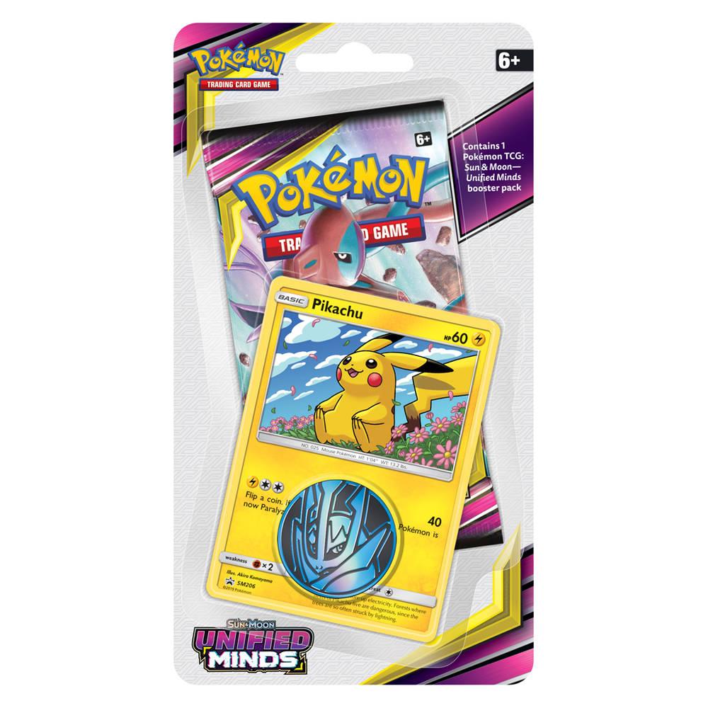 Pokémon TCG Sun & Moon Unified Minds checklane blister