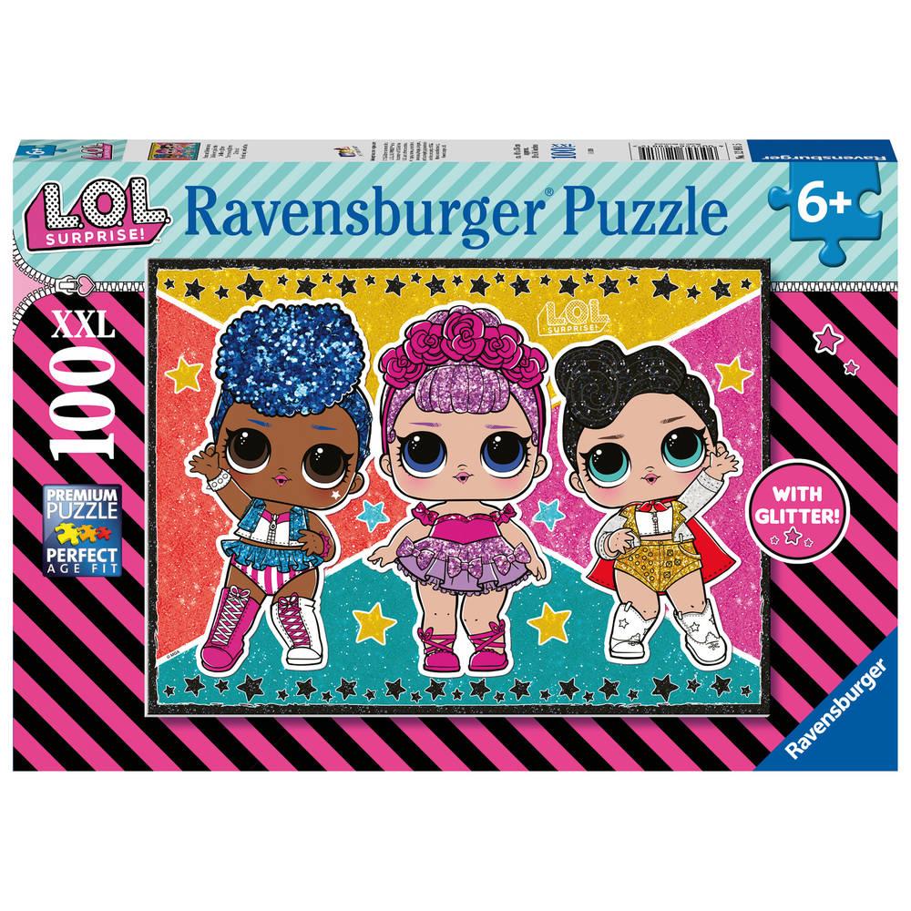 Ravensburger L.O.L. Surprise! puzzel - 100 stukjes