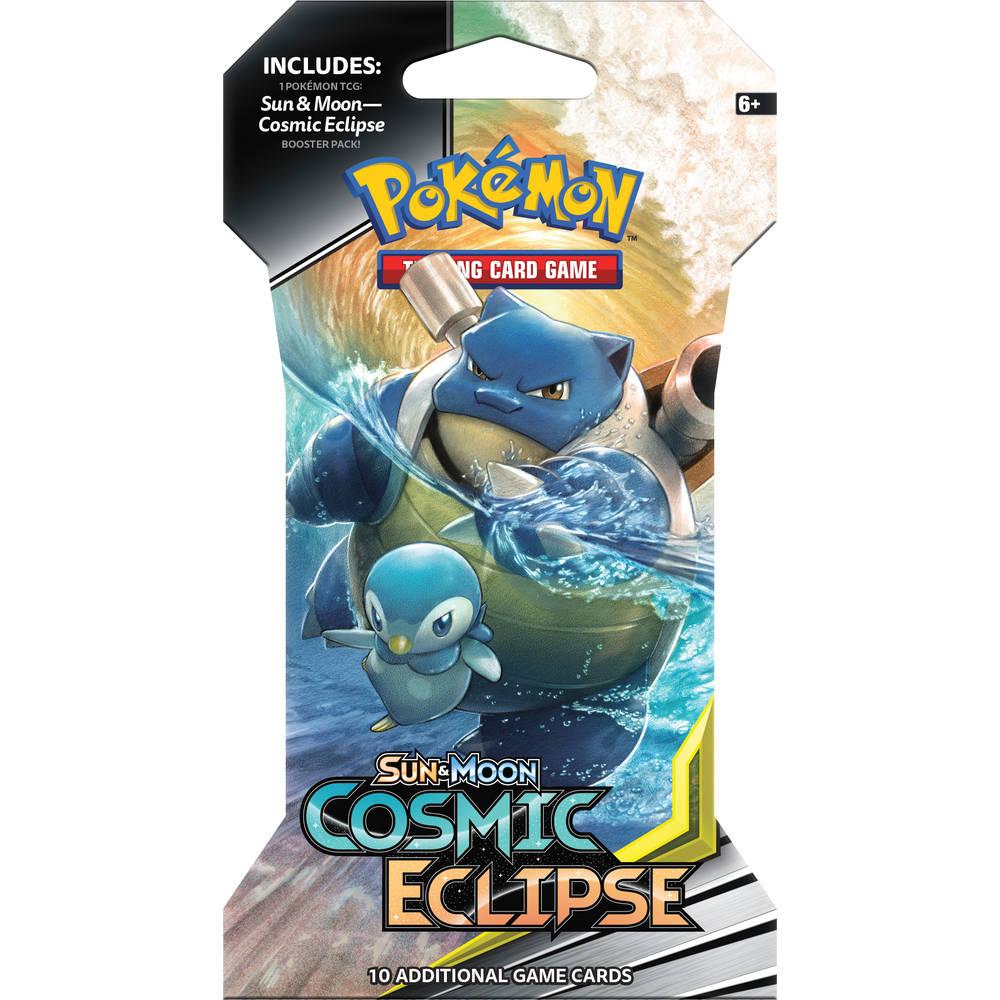 Pokémon TCG Sun & Moon Cosmic Eclipse sleeved booster