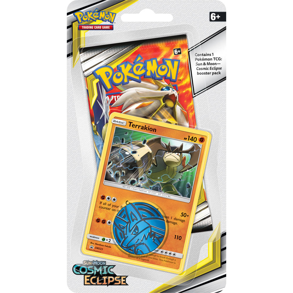 Pokémon TCG Sun & Moon Cosmic Eclipse Checklane Blister