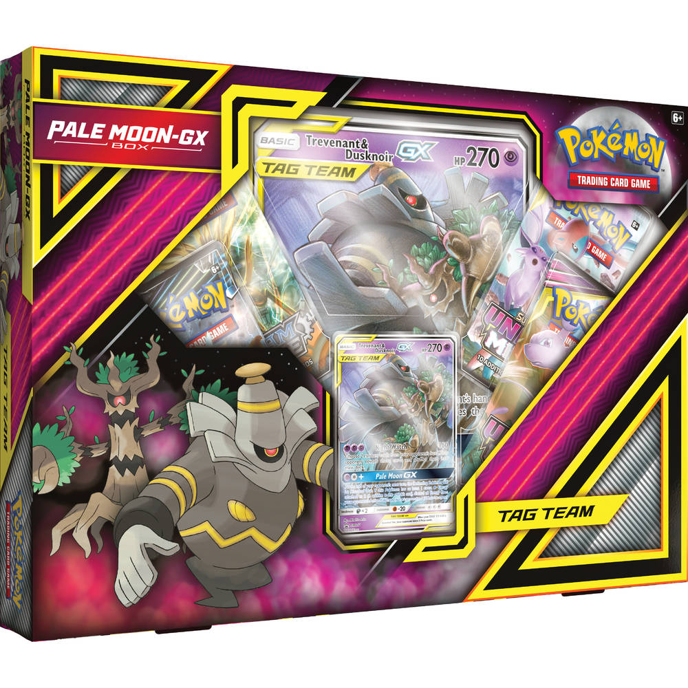 Pokémon TCG Pale Moon GX box