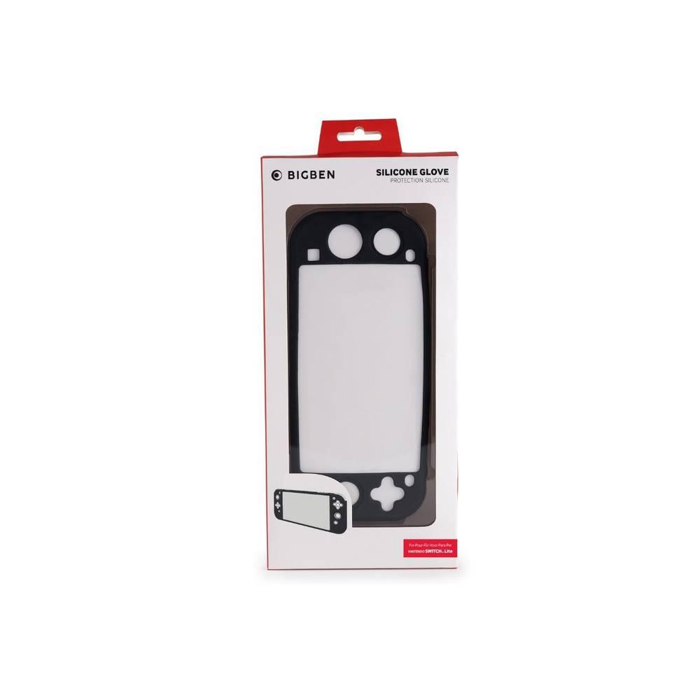 Nintendo Switch Lite siliconen beschermhoes - zwart