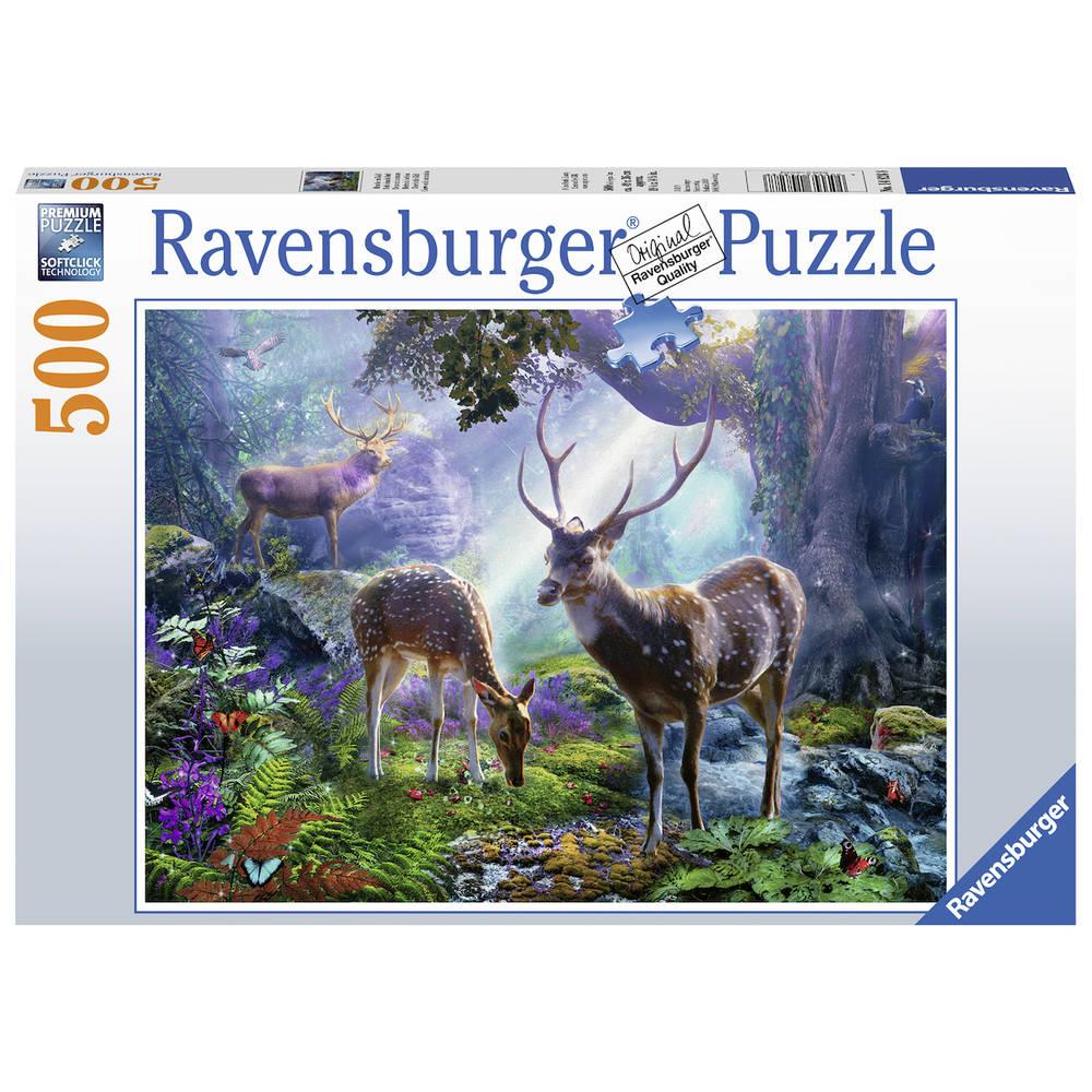 Ravensburger puzzel herten in het bos - 500 stukjes