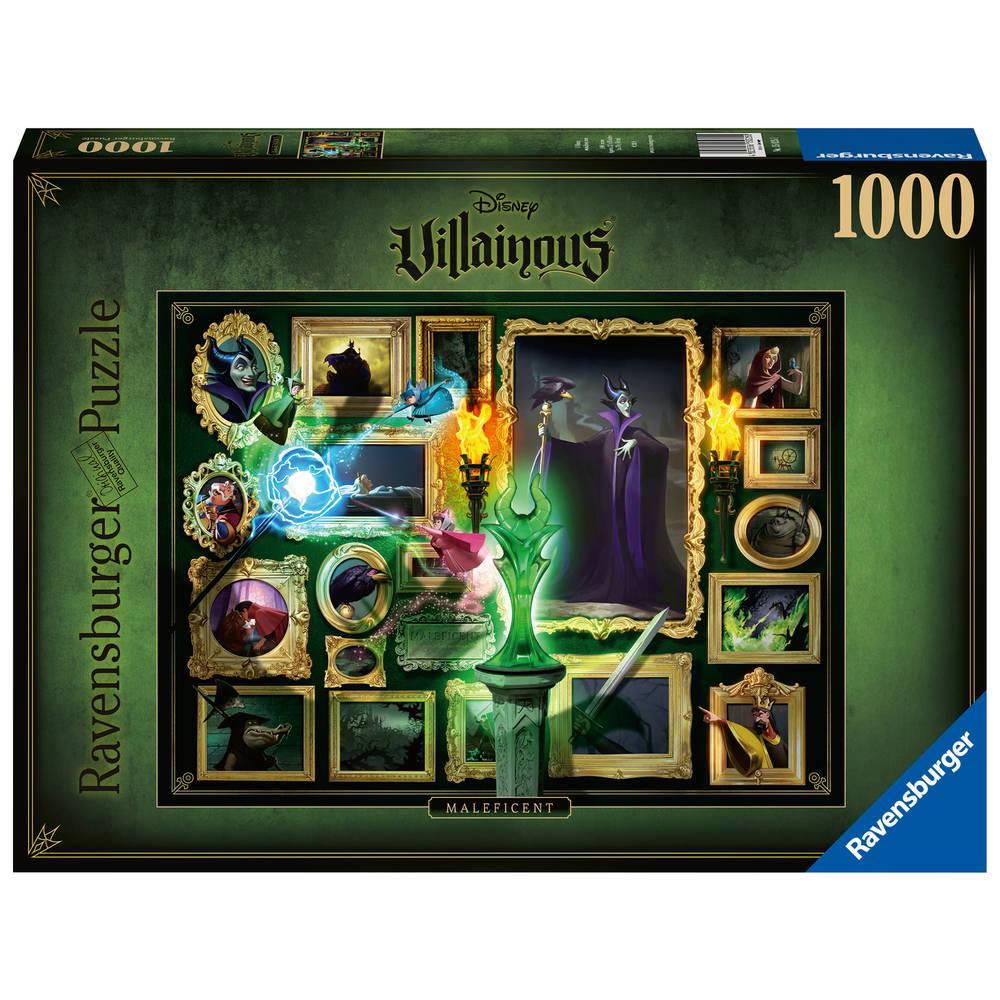 Ravensburger Disney Villainous puzzel Maleficent - 1000 stukjes