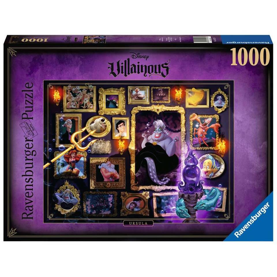 Ravensburger Disney Villainous puzzel Ursula - 1000 stukjes