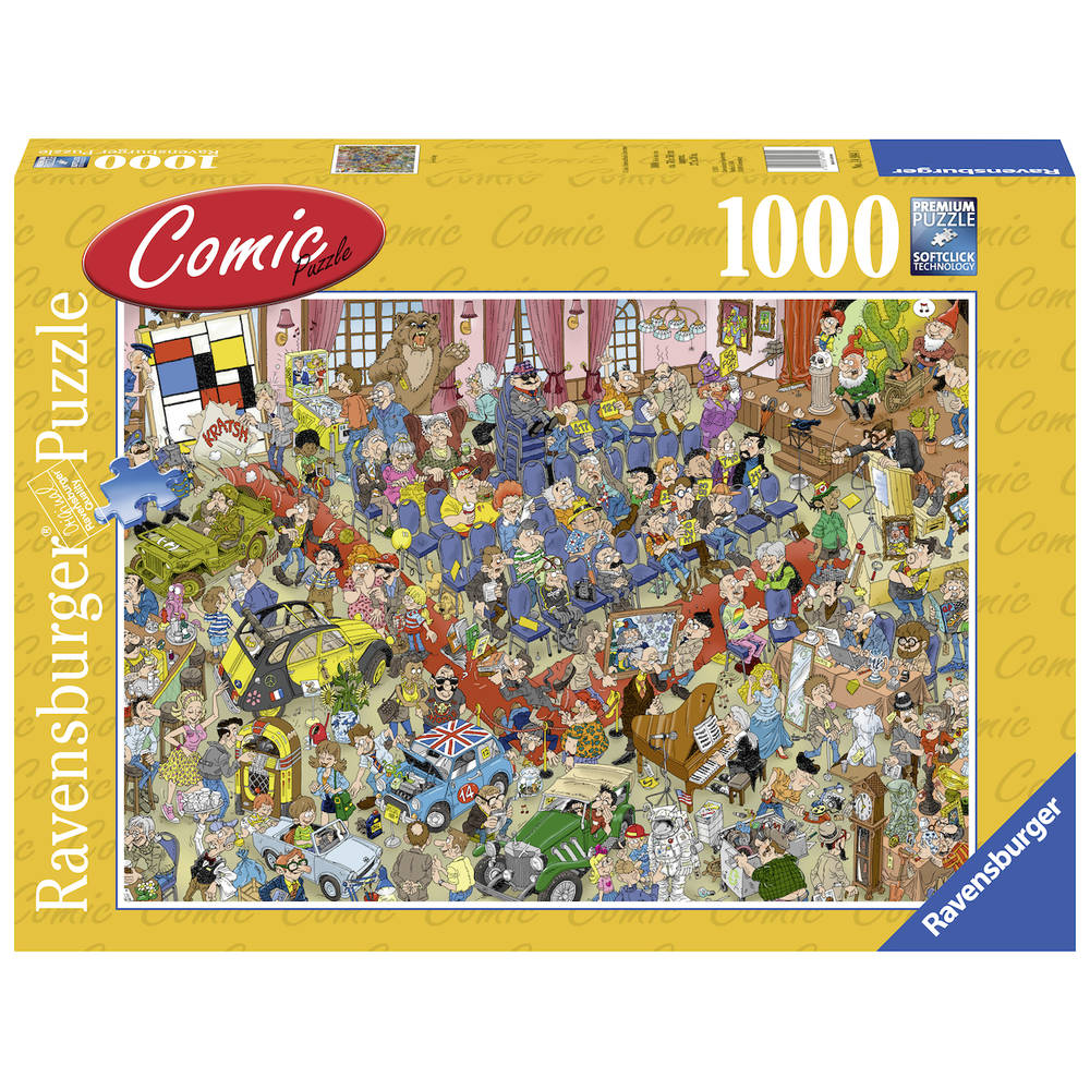Ravensburger Comic puzzel de veiling - 1000 stukjes