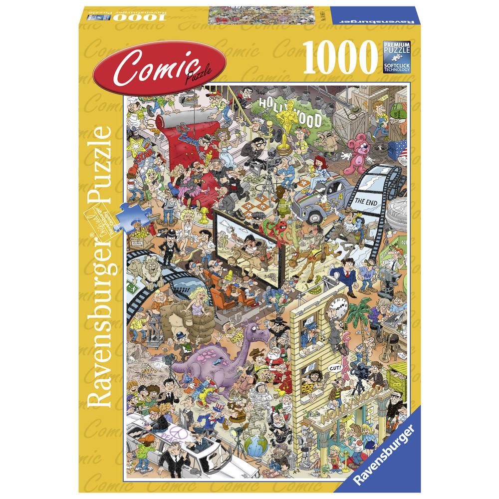 Ravensburger Comic puzzel Hollywood - 1000 stukjes