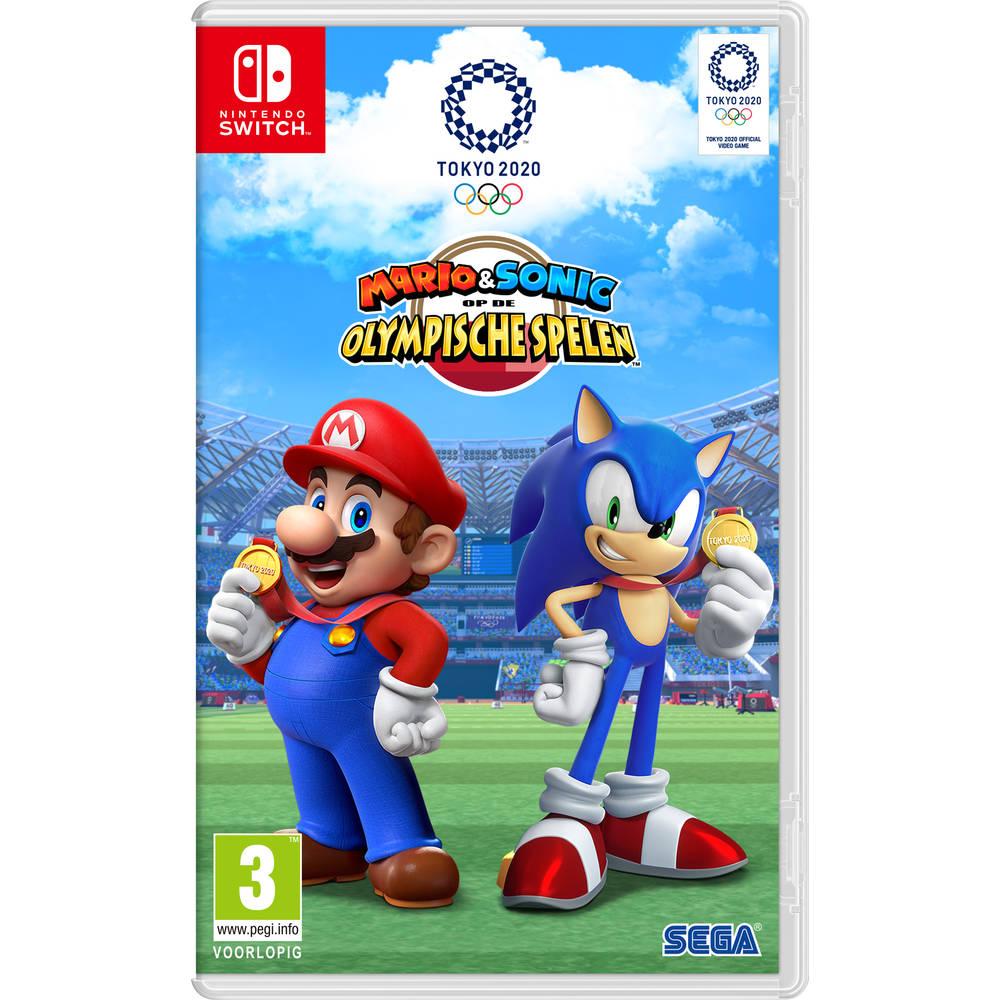 Nintendo Switch Mario & Sonic op de Olympische Spelen: Tokio 2020