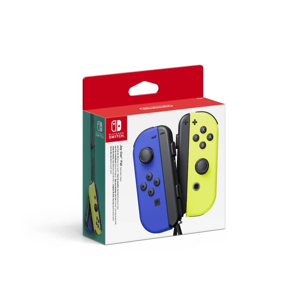 Joy-Con controllers set van 2 - blauw + geel