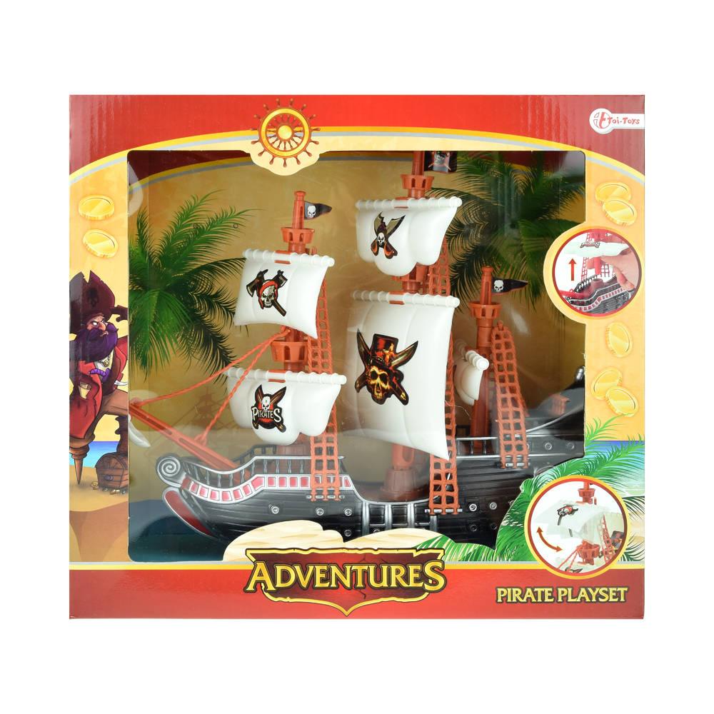 Adventures piratenschip - 31 cm