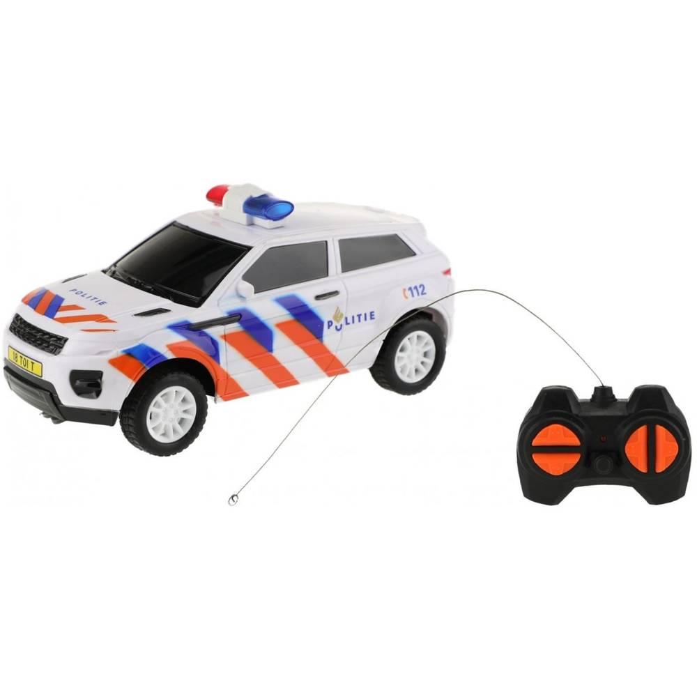 Op afstand bestuurbare Nederlandse politieauto