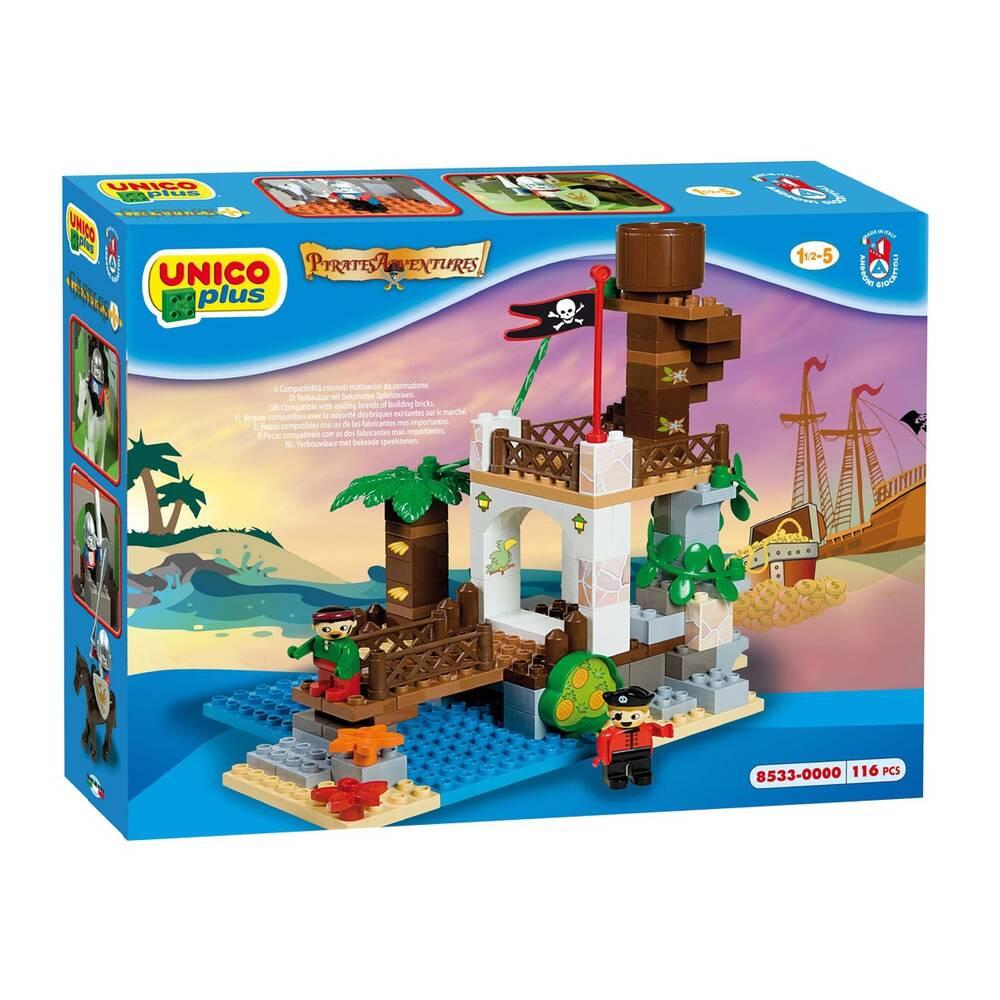 Unico piraten uitkijktoren bouwset