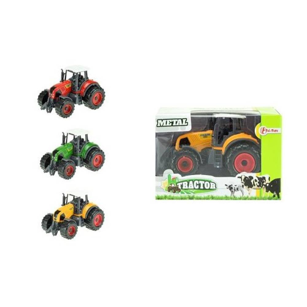 Tractor met licht en geluid