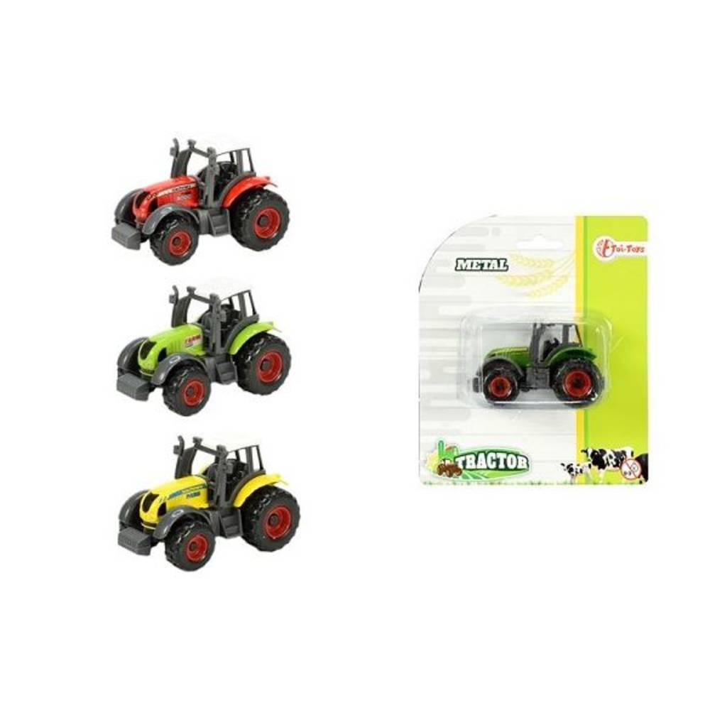 Metalen boerderij tractor