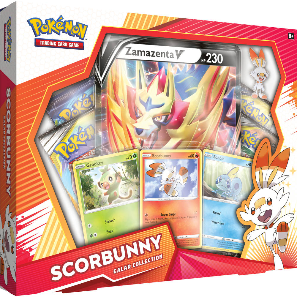 Pokémon TCG Galar Collection box