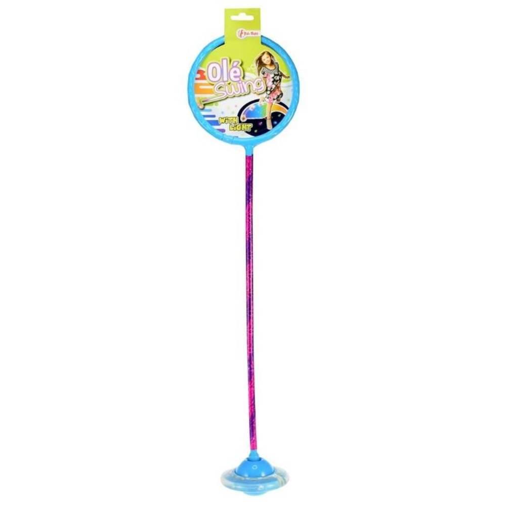 Ole Swing groot met licht en lasersticker - blauw