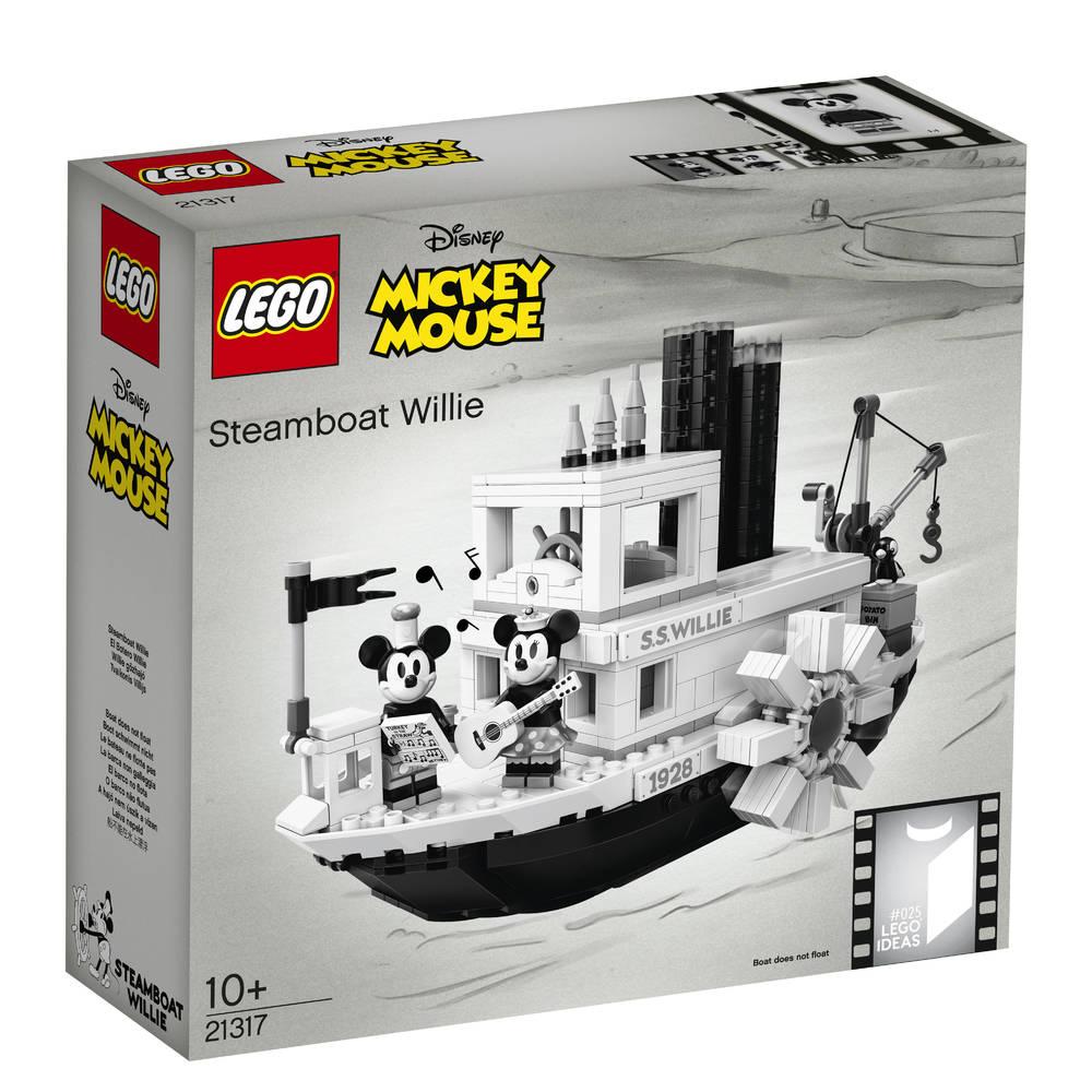 LEGO Disney stoomboot Willie 21317