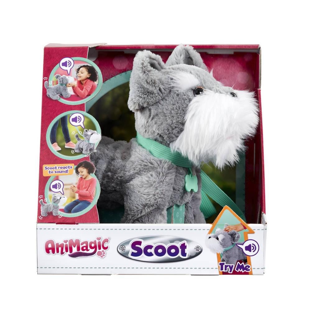 AniMagic interactieve knuffel hond Scoot
