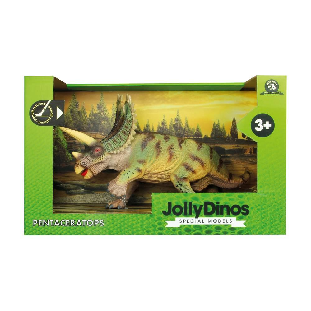 JollyDinos Pentaceratops speelfiguur