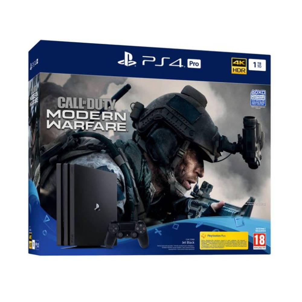 PS4 Pro 1TB + Call of Duty: Modern Warfare
