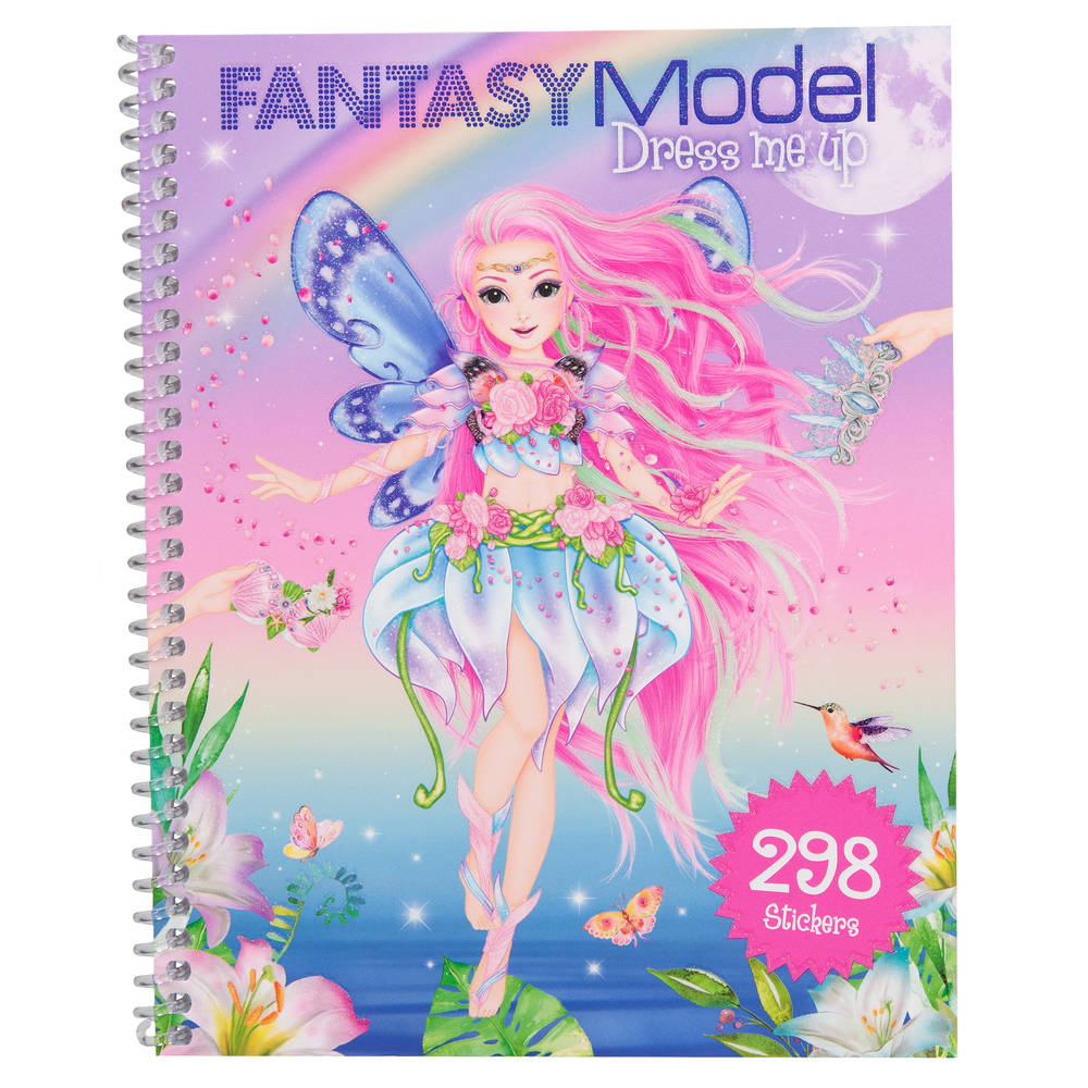 TOPModel Fantasy Model Dress Me Up stickerboek