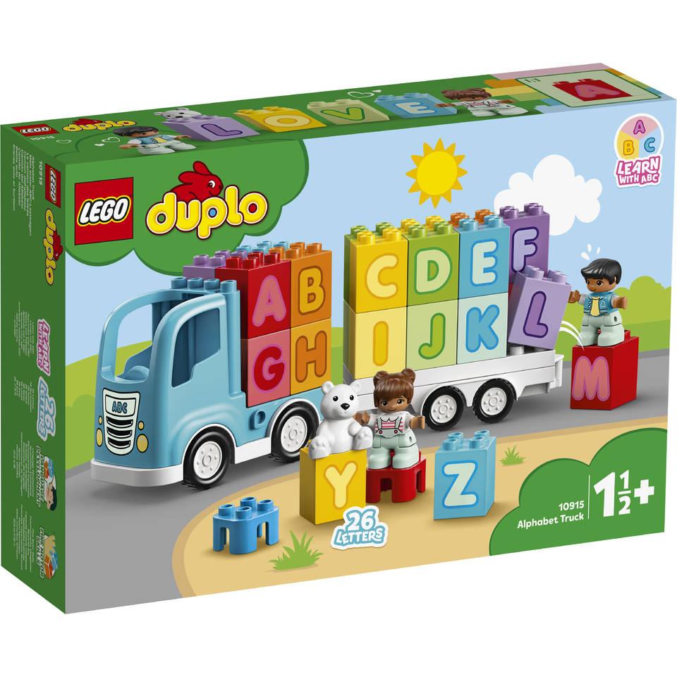 LEGO DUPLO alfabet vrachtwagen 10915