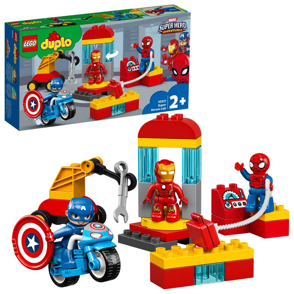 LEGO DUPLO laboratorium van superhelden 10921