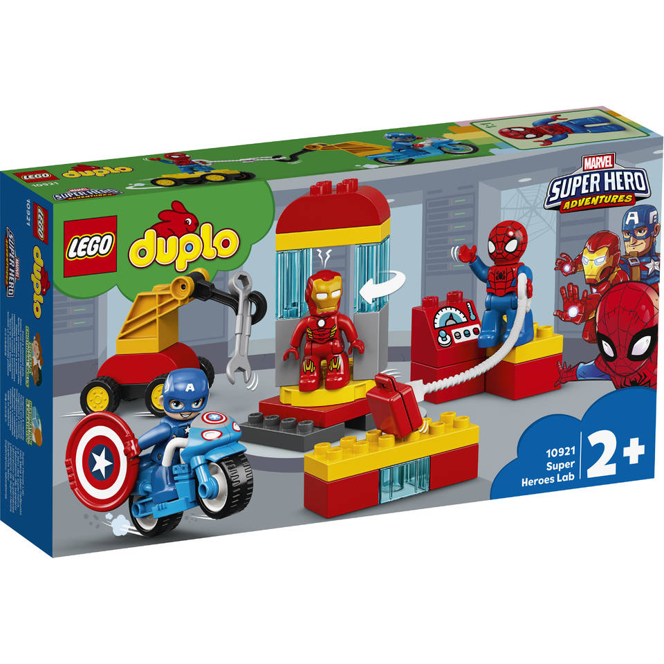 LEGO DUPLO laboratorium van superhelden 10921